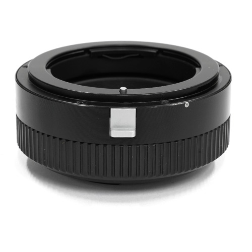 HAWKSFACTORY NIKON F TO M4/3 HELICOID マウント(ボディ側:Micro Four Thirds/レンズ側:Nikon F)補助ヘリコイド付き