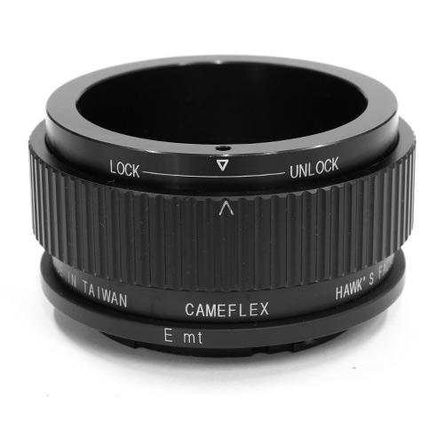 HAWKSFACTORY CAMEFLEX TO NEX E マウント(ボディ側:Sony E/レンズ側:CAMEFLEX)