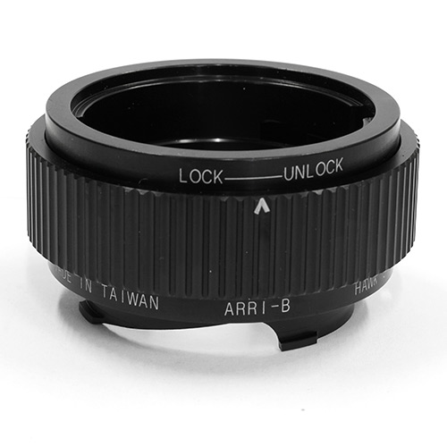 HAWKSFACTORY ARRI-B TO L-M マウント(ボディ側:Leica M/レンズ側:Arriflex Bayonet)