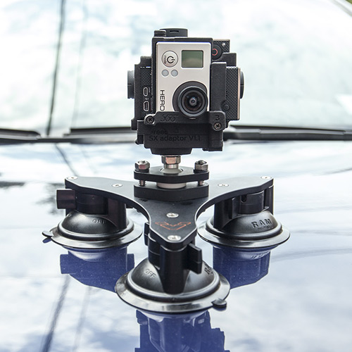 Tribase Suction Cup Mount 360度VR撮影に最適な吸着カップマウント