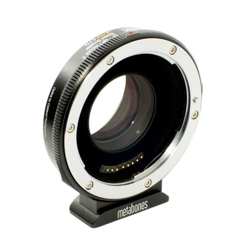 METABONES  MB_SPEF-M43-BT4 マウント(ボディ側:Micro Four Thirds/レンズ側:Canon EF)Speed Booster ULTRA 0.71x・電子接点付き・T(フロック加工)ブラック