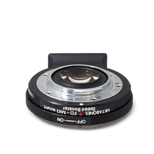 販売終了−METABONES  MB_SPFD-m43-BM1 マウント(ボディ側:Micro Four Thirds/レンズ側:Canon FD)Speed Booster 0.71x ブラック