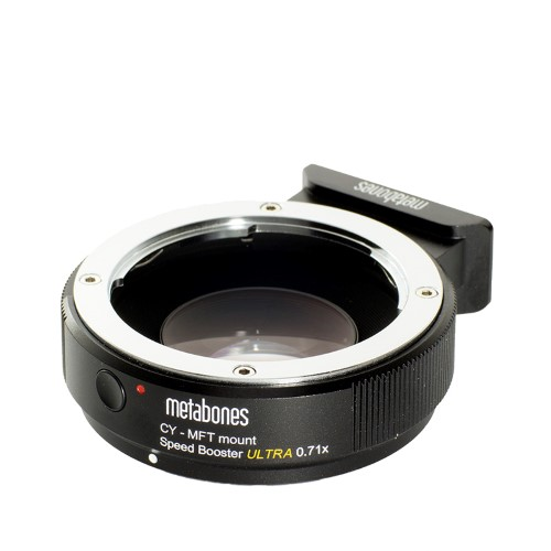 METABONES MB_SPCY-m43-BM3 マウント(ボディ側:Micro Four Thirds/レンズ側:Contax Yashica)Speed Booster ULTRA 0.71x ブラック