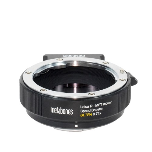 METABONES  MB_SPLR-m43-BM3 マウント(ボディ側:Micro Four Thirds/レンズ側:Leica R )Speed Booster ULTRA 0.71x ブラック