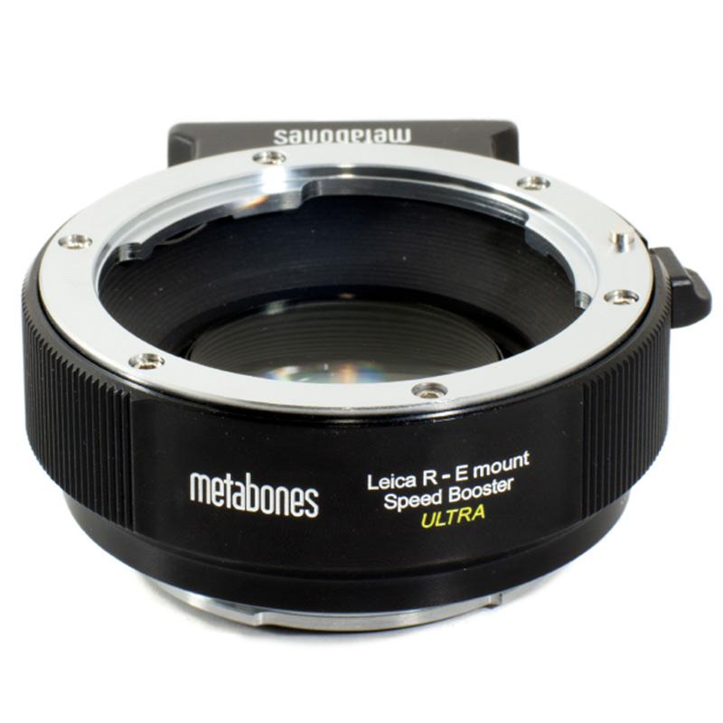 METABONES  MB_SPLR-E-BM2 マウント(ボディ側:Sony E/レンズ側:Leica R )Speed Booster ULTRA 0.71x ブラック