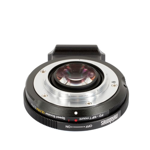 METABONES  MB_SPFD-m43-BM3 マウント(ボディ側:Micro Four Thirds/レンズ側:Canon FD)Speed Booster ULTRA 0.71x ブラック