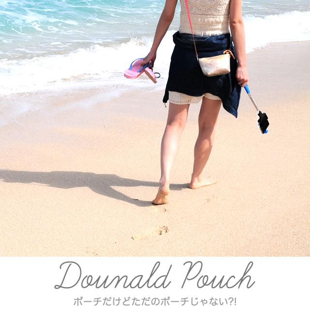 Dounald Pouch / レザーポーチドナルド