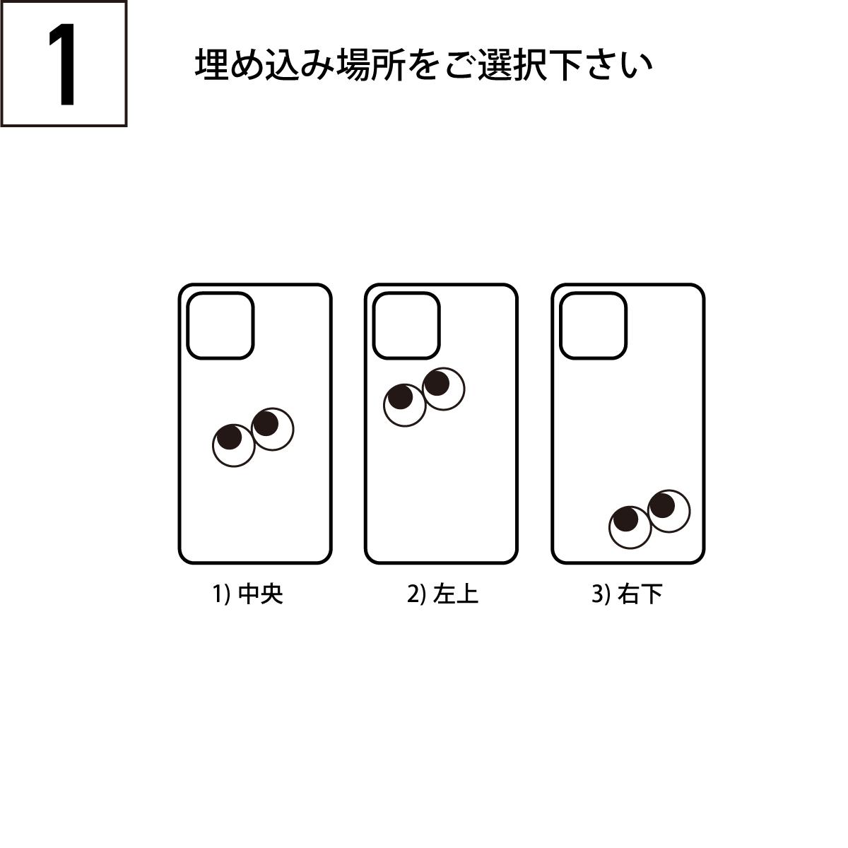 iPhoneOpenCase:    Option8:目 ファニーアイズ埋込追加