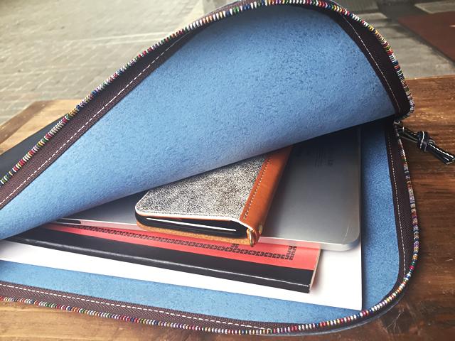 Clutch Bag for Men レザークラッチバッグ: Diral