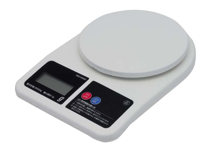 《NEW》【M&M】デジタルスケール2kg DSC-2000[72251]