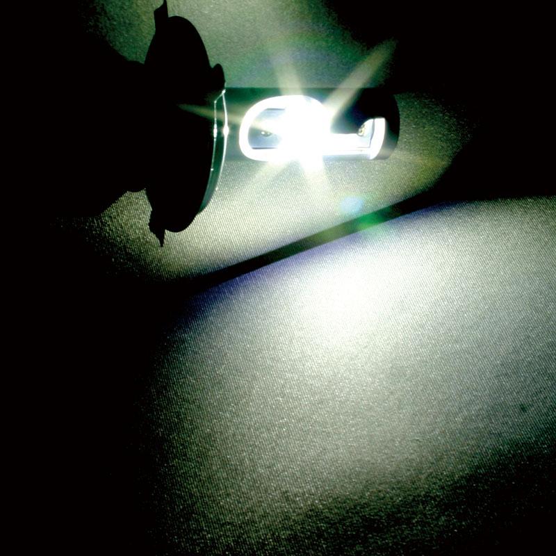 LEDヘッド&フォグ H8/H9/H11 6000K 3800Lmワンボディタイプ (2個入り) [19407]