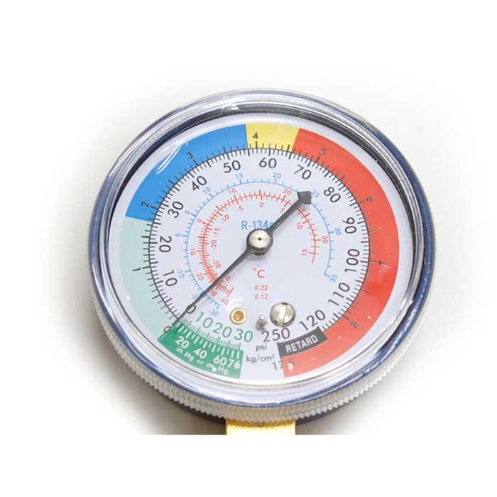 【カルソニック】クーラーガス R134+エアコン簡易ガスチャージホースメーター [50931]
