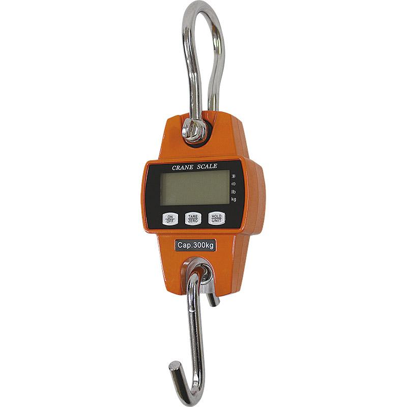 充電式デジタルクレーンスケール(吊秤)300kg  A4403T[35627]