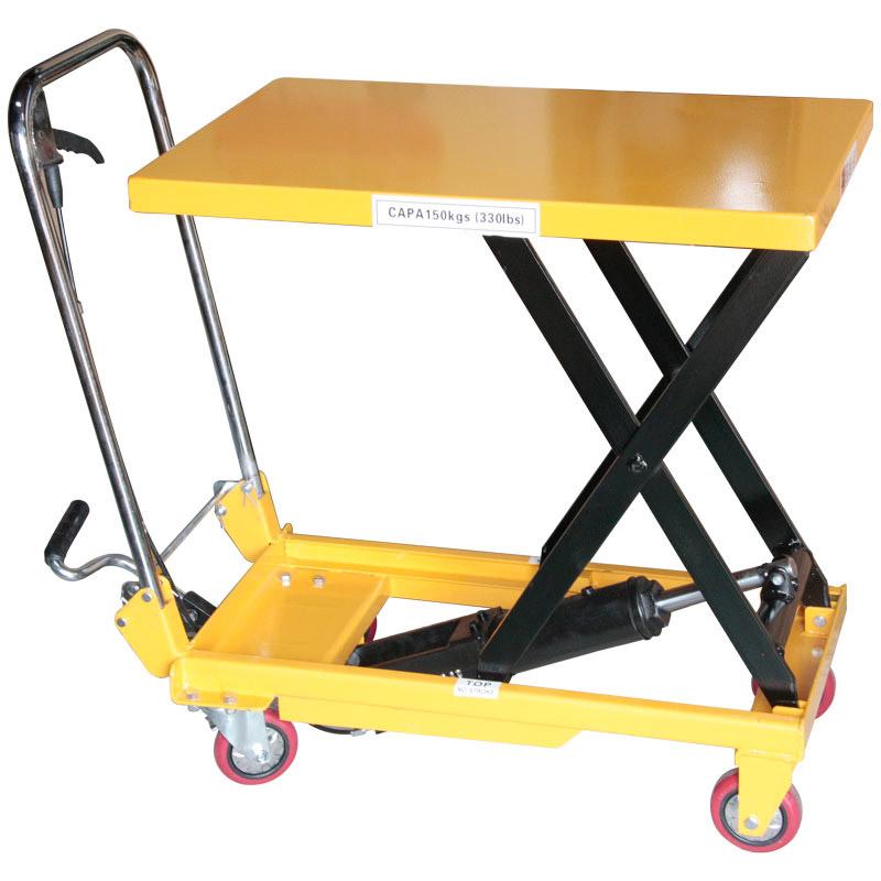 折りたたみ式リフトテーブル150kg DL151 [34529]