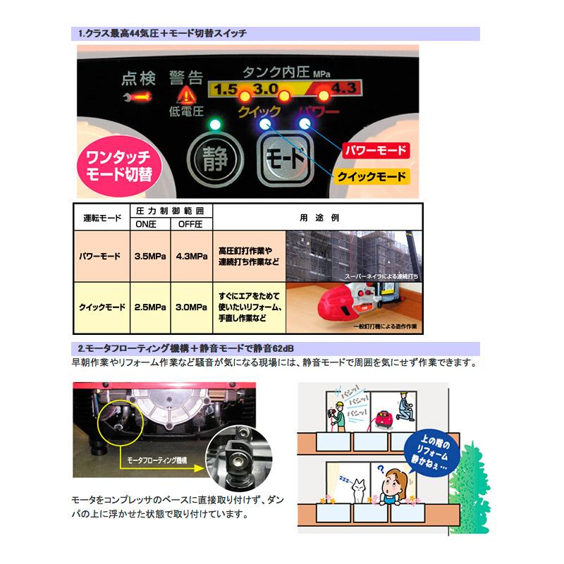【MAX】エアーコンプレッサー AK-CH7900E [22304]