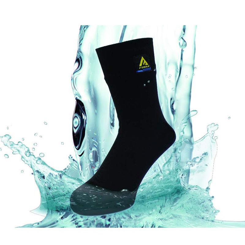 《NEW》【おたふく】フーバー 防水ソックス ブラック Mサイズ[75971]