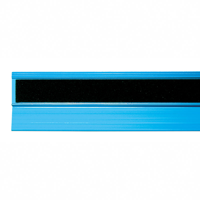 【シンワ】アルミ直尺 アル助 45� シャイニングブルー(65423) [38359]