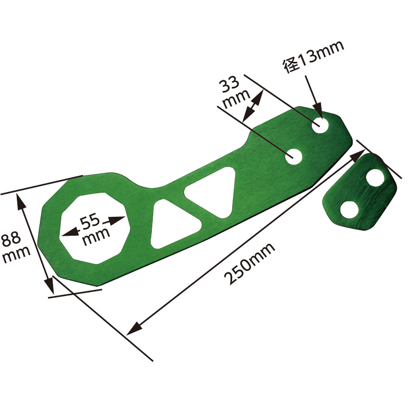 リア牽引牽引フック TH−310 [35393-35398]