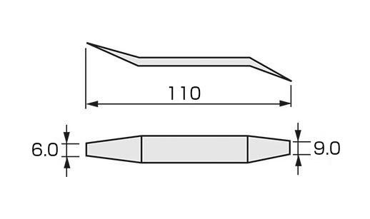 【TONE】ブレーキシュー調節ツールBST-110[23929]