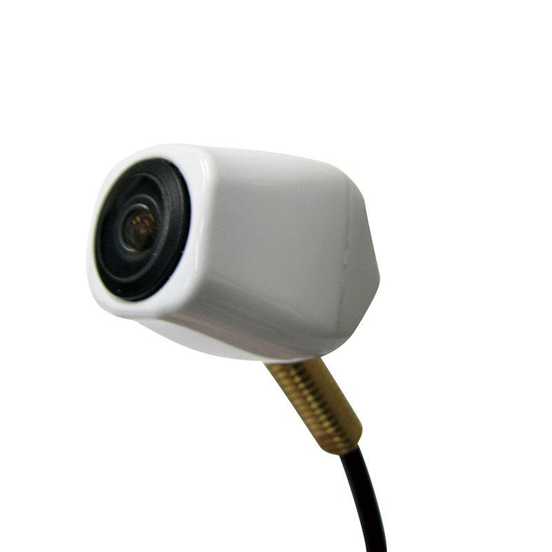 ナンバープレート穴取付 リアビューカメラ ホワイト BCS-500WH [03800]