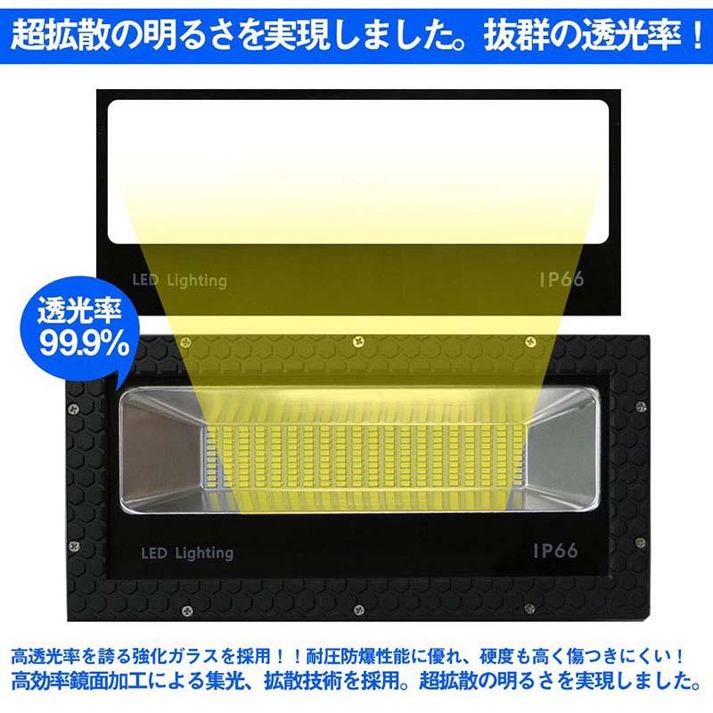 100w・LED投光器・ 薄型・広角 [4421]