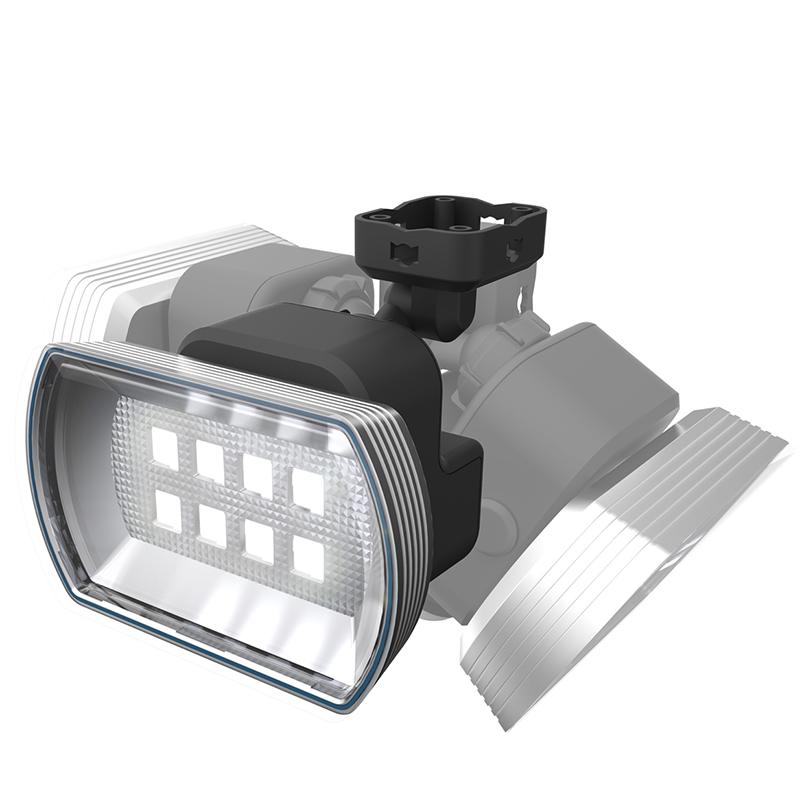 【RITEX】4Wワイドフリーアーム式LED乾電池センサー CBA150 [19464]