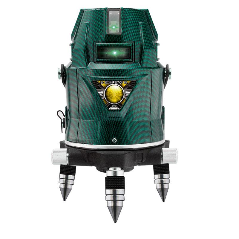 【山真製鋸】超高輝度グリーンレーザーフルライン&ドット照射 LDR9sh [03673]