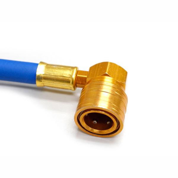 <まとめてお得>【カルソニック】クーラーガス R134+エアコン簡易ガスチャージホースメーター(ロングタイプ) [50952