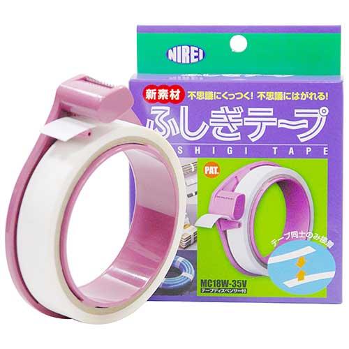【NIREI】ふしぎテープ ディスペンサ付 MC18W-35V [17936]