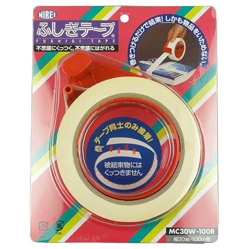 【NIREI】ふしぎテープ ディスペンサ付 MC30W-100R [17940]