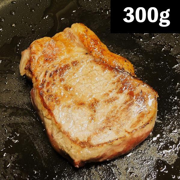 おいしく焼ける!3cm厚のサーロインステーキ【カナディアンビーフ】300gアップ