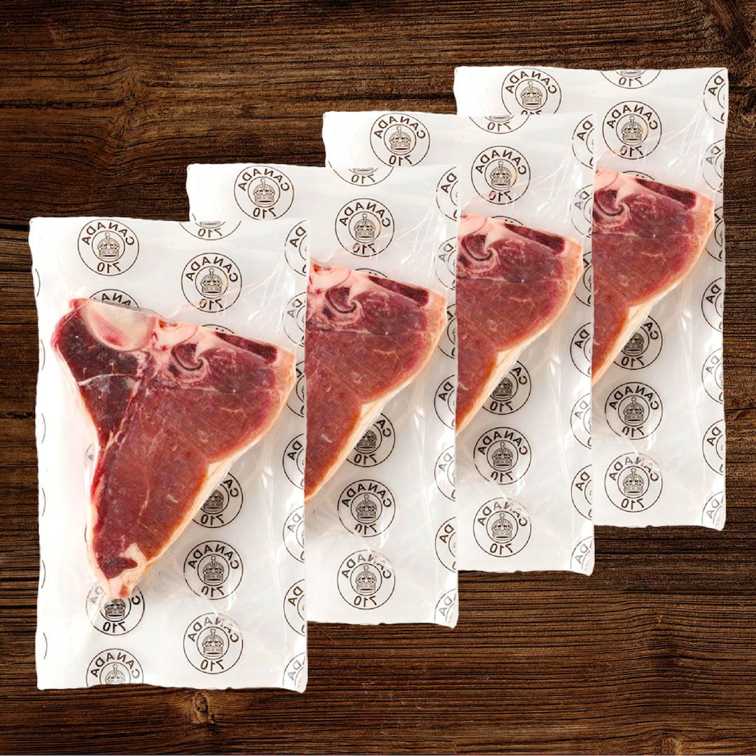 熟成赤身肉ステーキセット【カナディアンビーフ】合計1.4kg