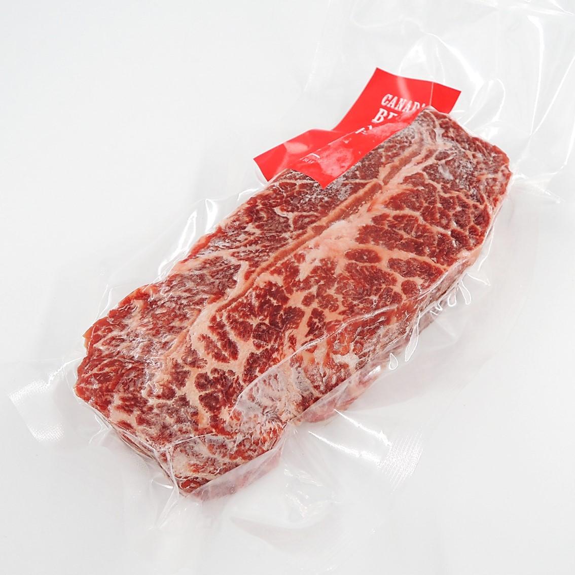 【カナディアンビーフ】熟成赤身のミスジステーキ/180g