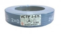 ビニルキャプタイヤケーブルVCTF0.75×2芯