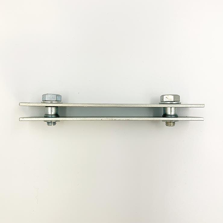 Wボード用連結固定金具(プレート型)