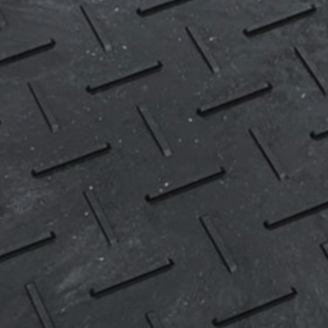 樹脂製敷板Wボード36【薄型片面】(910mm×1820mm×板厚8mm+すべり止め5mm 黒) 13kg ウッドプラスチック製