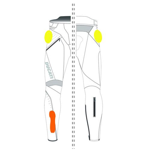 Speed Evo C1 - レザーパンツ 9810438