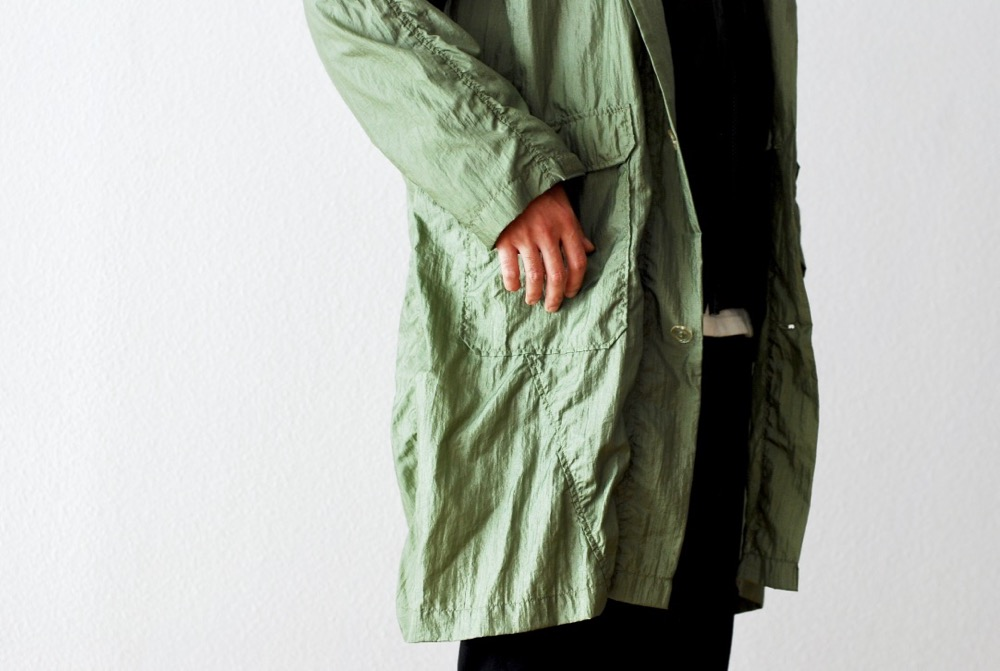 "[unisex]itten.(イッテン) ""itten 000 OHEN ROLLER Coat -water proof nylon-"""