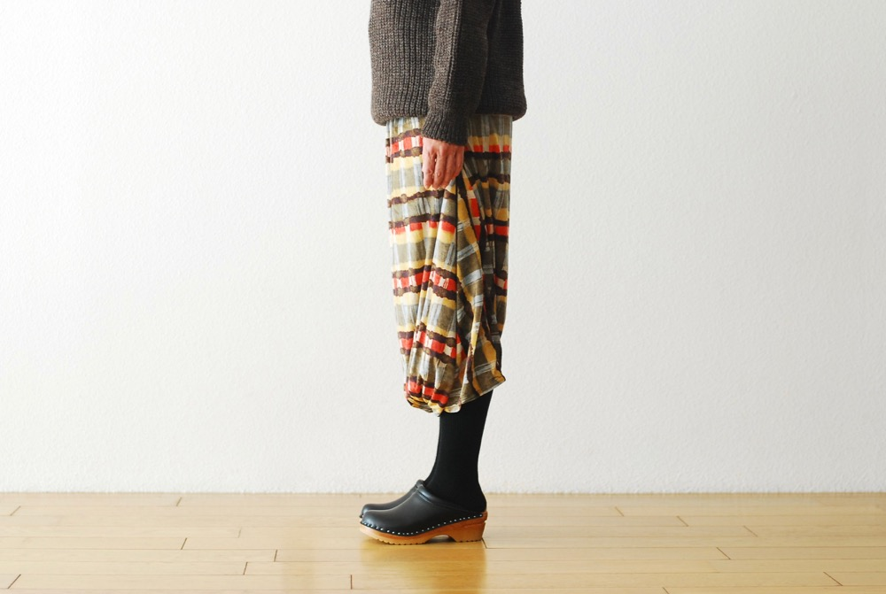 "[30% > 50%OFF / WOMEN'S]Needles (ニードルズ) ""Conti Skirt - Poly Velour/Print"""