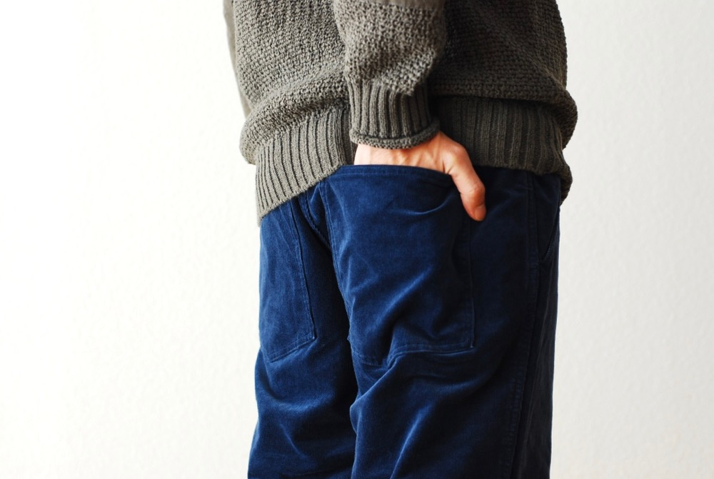 "[unisex]itten. (イッテン)""itten 16 escape pants - stretch corduroy"""