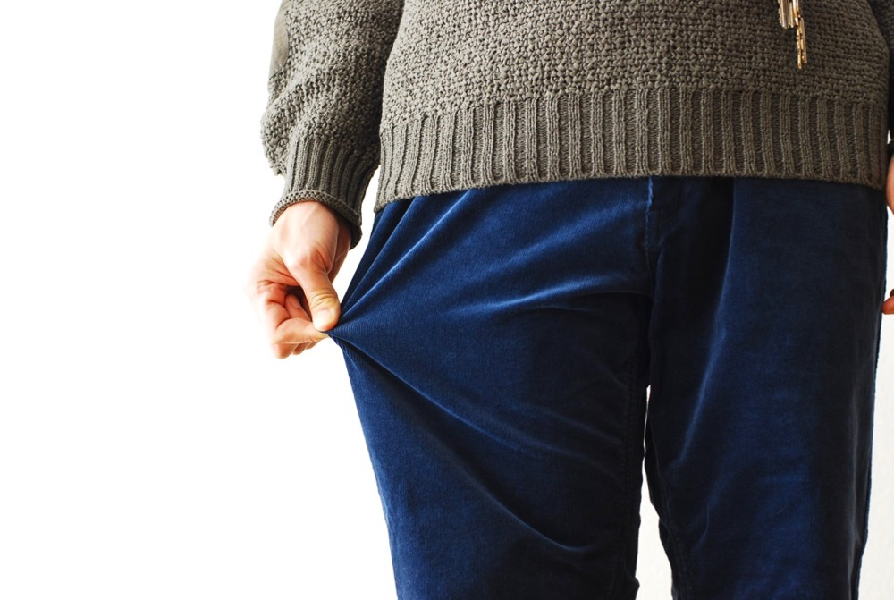 "[unisex]itten. (イッテン)""itten 16 escape pants - stretch corduroy"""