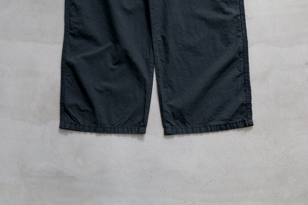 """SEVEN BY SEVEN(セブンバイセブン) """"COTTON SILK PAINTER PANTS - Product dyed -"""""""