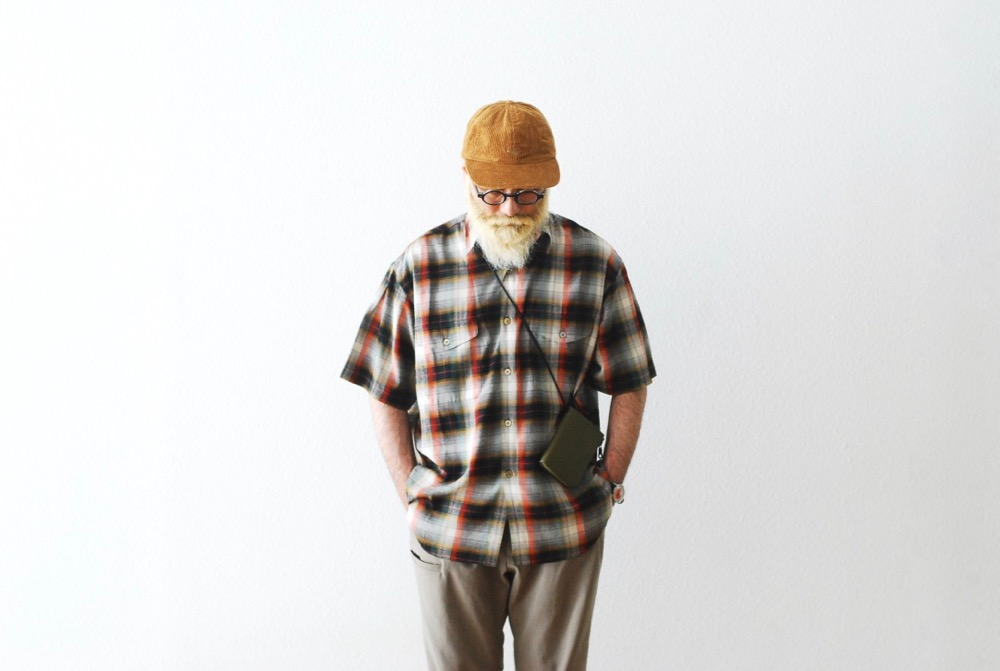 """[limited] SEVEN BY SEVEN × WONDER MOUNTAIN (セブンバイセブン × ワンダーマウンテン) """"TUCK SHIRTS  S/S - Multi color check -"""""""