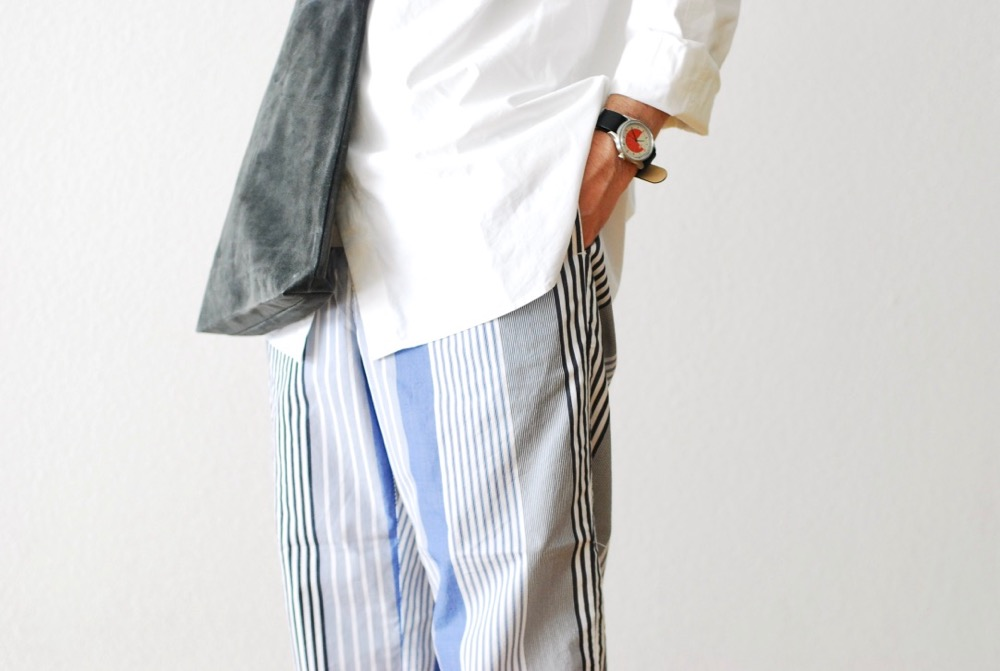 "[unisex]itten.(イッテン) ""itten 11 H easy pants - Multi Stripe-"""