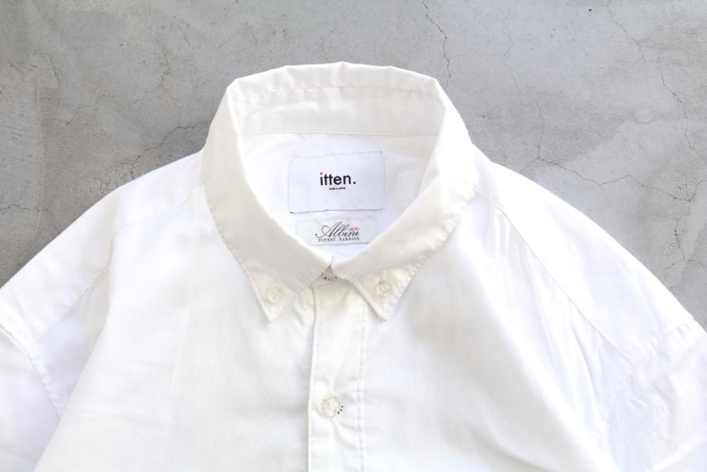 """itten.(イッテン) """"itten  11 shirts -MicroOxford-"""""""