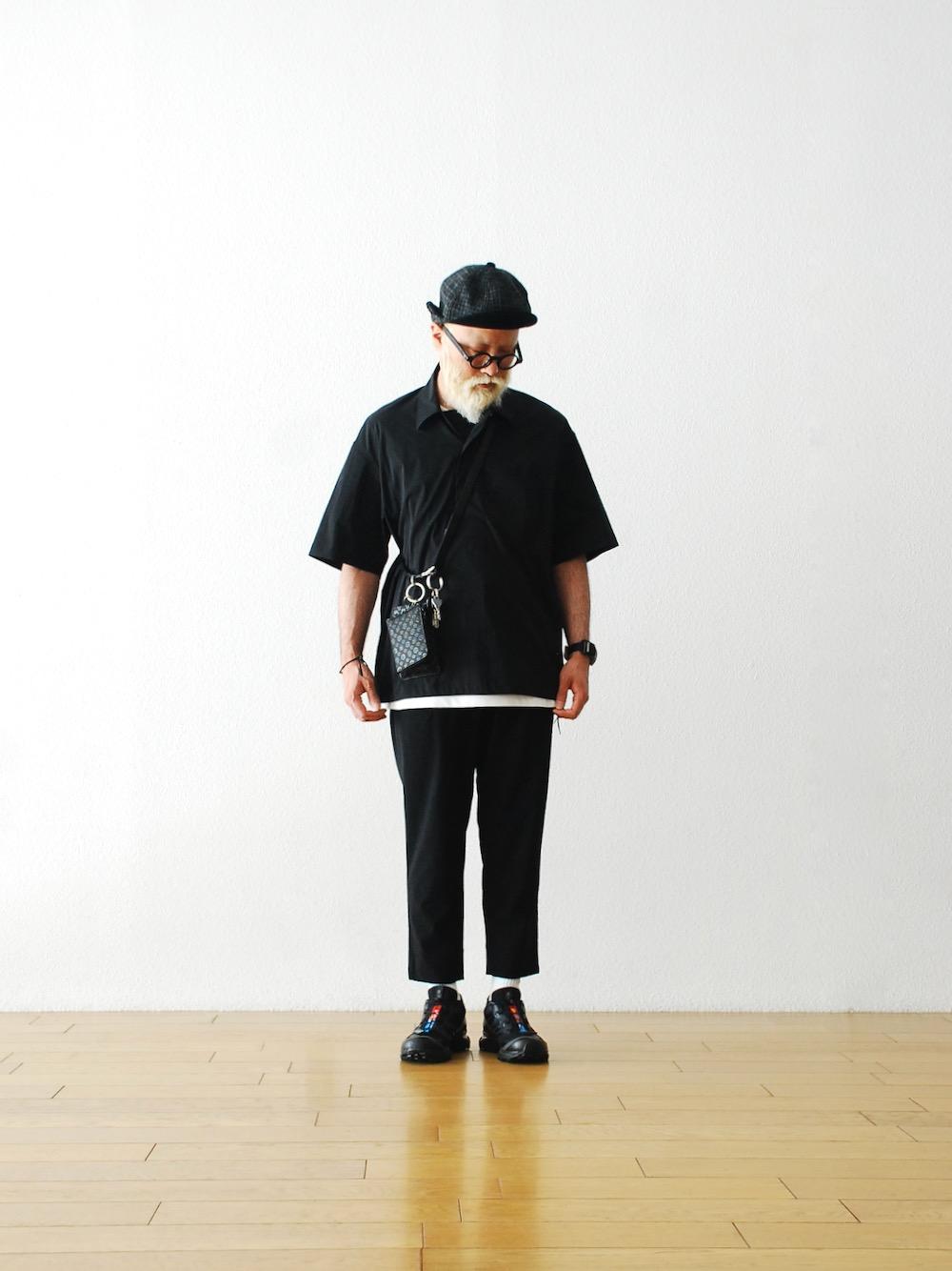 "【EXCLUSIVE / W.M 別注】yorozu(ヨロズ) ""ツナギレザーダブルリングベルト """