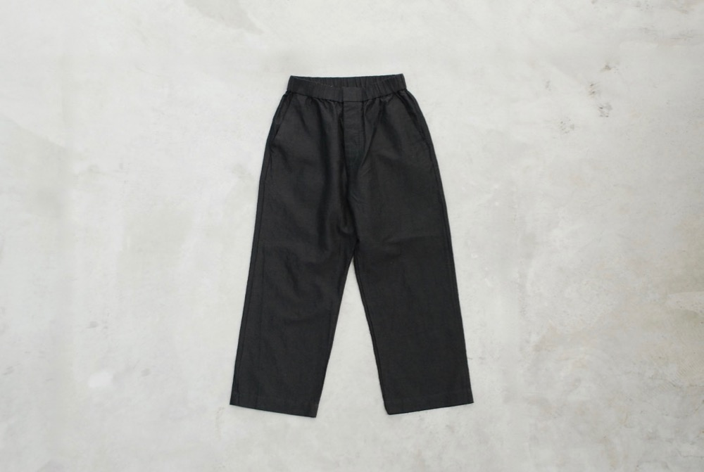"[WOMEN'S]TOUJOURS(トゥジュー)""Easy Trousers -RAMIE*COTTON CHAMBRAY TWILL CLOTH"""