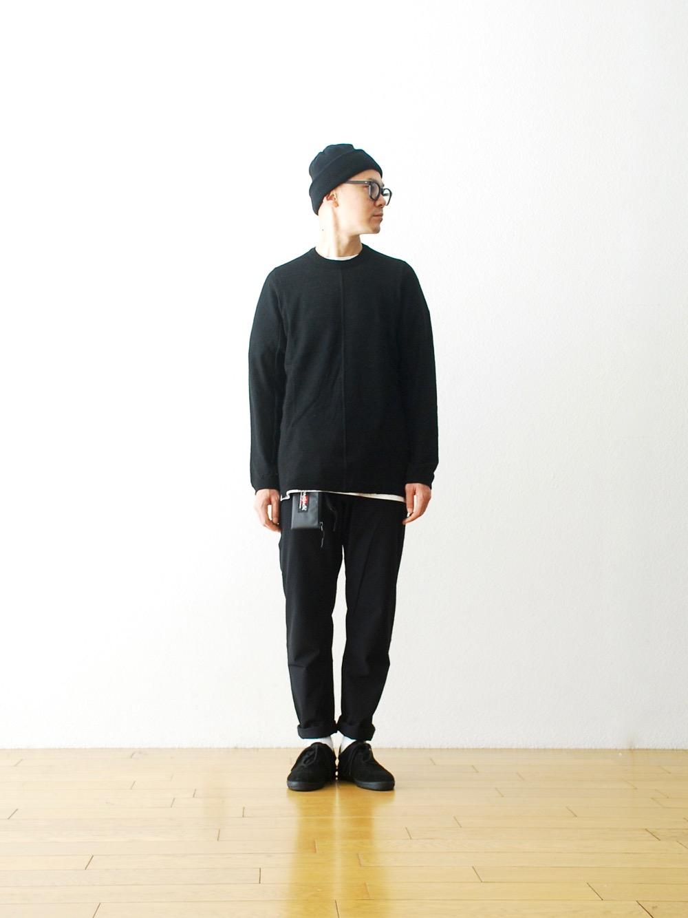 "ACRONYM(アクロニウム) ""S23-AK Cashllama Long Sleeve Sweater"""