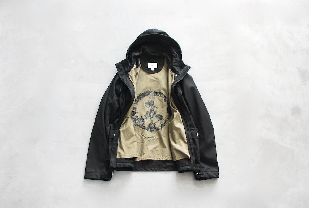 "【limited】itten. × KOSUKE KAWAMURA (イッテン× 河村康輔) ""itten 00 NC Parker"""