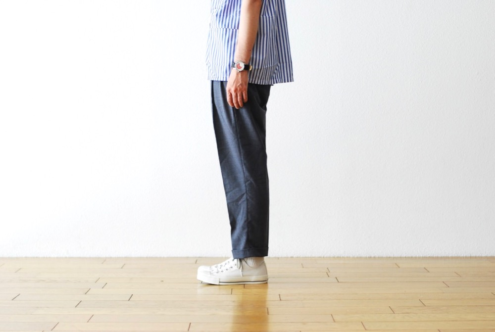 "itten.(イッテン) ""itten 10 pants-tropical wool"""